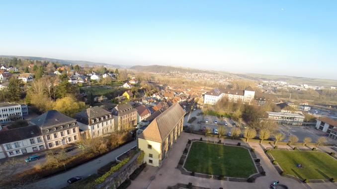 Blieskastel Luftaufnahme Schlossberg